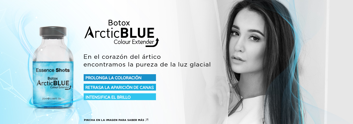 Arctic Blue Hair Botox
